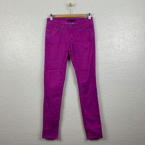 prAna Size 2 Kara Skinny Jeans Purple